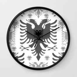 Eagles / Paterns / Creation / Composition IV Wall Clock