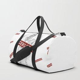 Marylin Censored Duffle Bag
