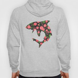 Floral Shark Hoody