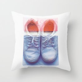 Shoe_Box Throw Pillow