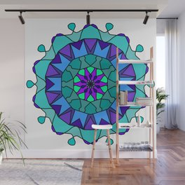 very detailed and easily editable Wall Mural