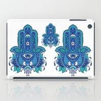 hamsa iPad Cases featuring Hamsa by Miss Chat*Z