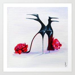 Luxury shoes Art Print