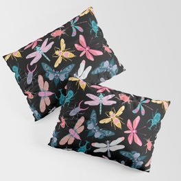 Bold and vibrant insect pattern Pillow Sham