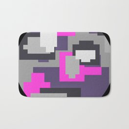 Purple camou Bath Mat