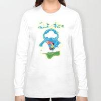 ponyo Long Sleeve T-shirts featuring Ponyo by CarloJ1956