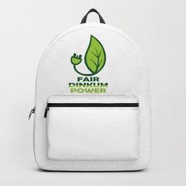 FAIR DINKUM POWER Backpack