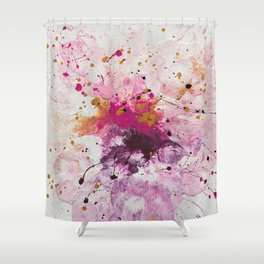 Pink, pink & pink Shower Curtain