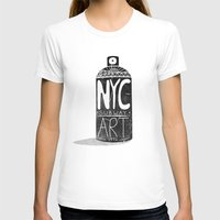 nyc T-shirts featuring NYC 1972 by Farnell