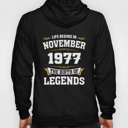 November 1977 41 the birth of Legends Hoody
