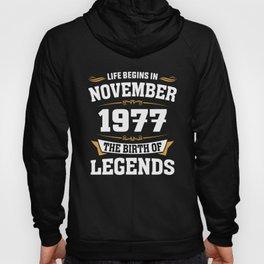 November 1977 41 the birth of Legends Hoody