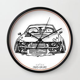 Crazy Car Art 0024 Wall Clock