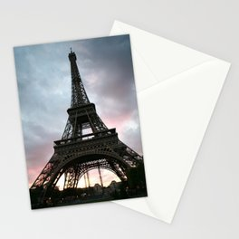 Cotton Candy Sky Eiffel Stationery Cards