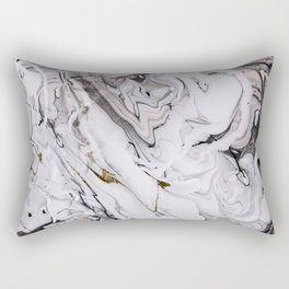 Chic Marble Rectangular Pillow