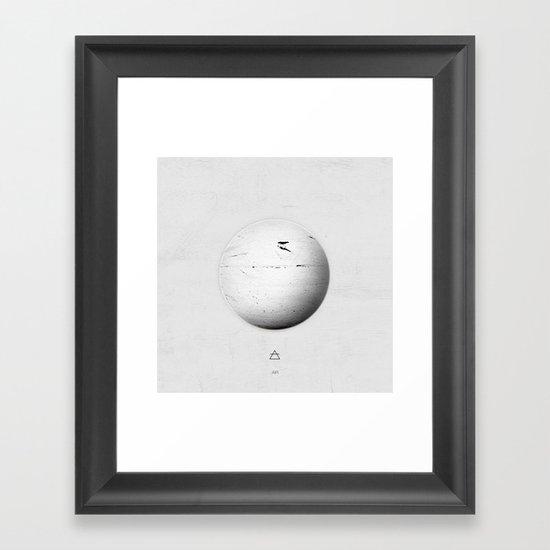 Element: Air Framed Art Print