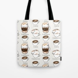 Coffee Right Meow Tote Bag