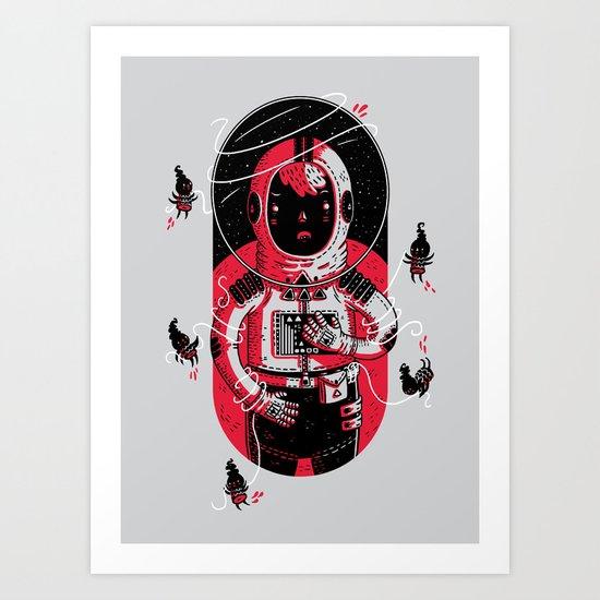 Gulliver's Space Travels Art Print