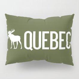 Moose: Quebec, Canada Pillow Sham