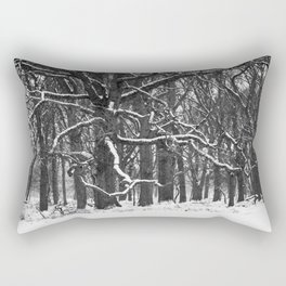 Tree in the winter (RR 272) Rectangular Pillow