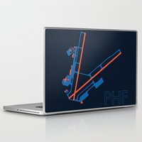 60s Laptop & iPad Skins featuring Newport News (PHF) - 60s by Kyle Rodgers