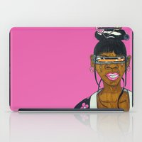 cyclops iPad Cases featuring Cyclops Samurai  by N3RDS+INK