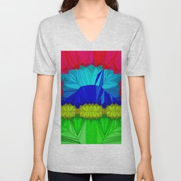 The theatre of unspoiled nature ... Unisex V-Neck