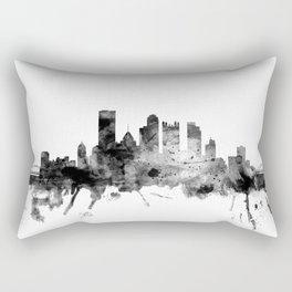 Pittsburgh Pennsylvania Skyline Rectangular Pillow