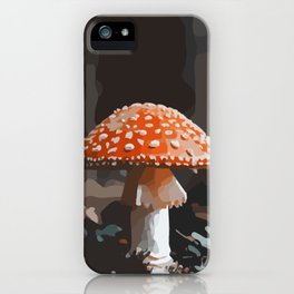 Fungi Mushi Mushroom #forest #autumn #food #art #fungus iPhone Case