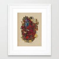 apollo Framed Art Prints featuring - apollo - by Magdalla Del Fresto