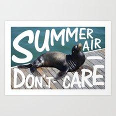 Summer Air Art Print