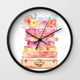 Read More Big Books Wall Clock