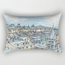 Il porto di Genova Rectangular Pillow