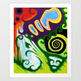 Jellybean Plantscapes Art Print