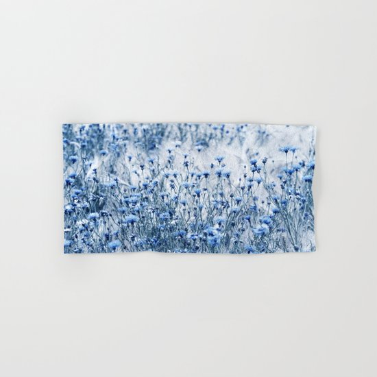 Cornflowers in summer time Hand & Bath Towel