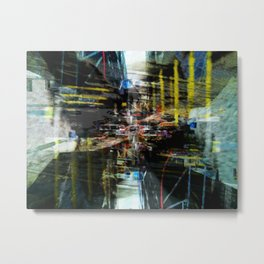 Never acclimated, rim row obstacle walkway. Metal Print