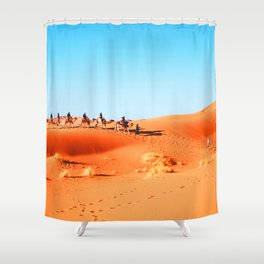 No Desert Heartbeats Shower Curtain