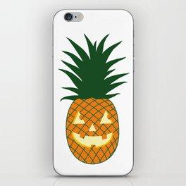 Carved Pineapple Hawaiian Halloween iPhone Skin