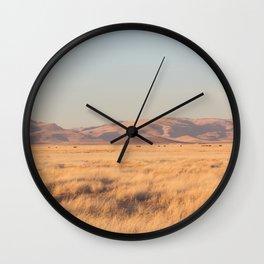 Home on the Range II Wall Clock