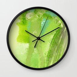 green Manikin Wall Clock