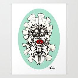 Spider Baby Art Print