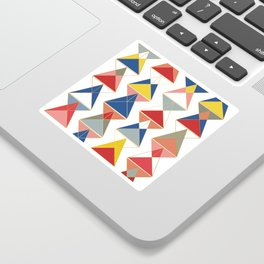 Triangular Affair II Sticker