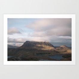 Travel photography print: Assynt, Scotland Art Print