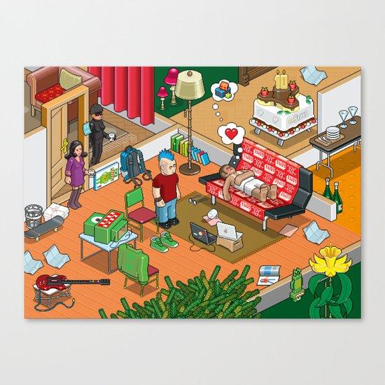 Party! Canvas Print