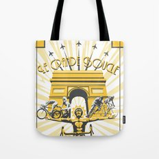 Le Grande Boucle Tour de France Tote Bag
