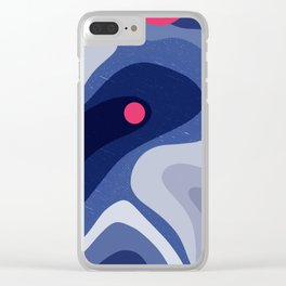 Dot | Happy modern Art Clear iPhone Case
