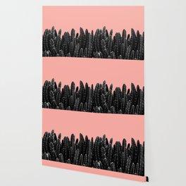 Black Cacti Dream #2 #minimal #decor #art #society6 Wallpaper