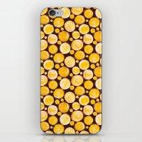 kansas iPhone & iPod Skins featuring Kansas Pattern by Timone