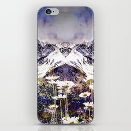 Rocky Mountain Meadow iPhone Skin