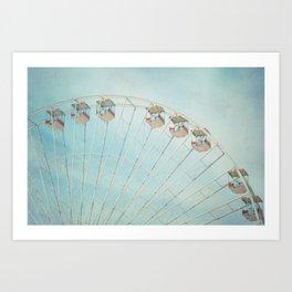 The Giant Wheel Art Print