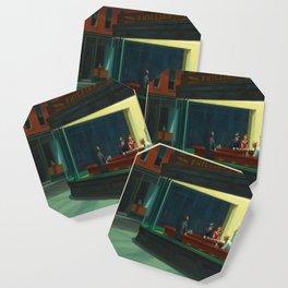 Edward Hopper's Nighthawks Coaster